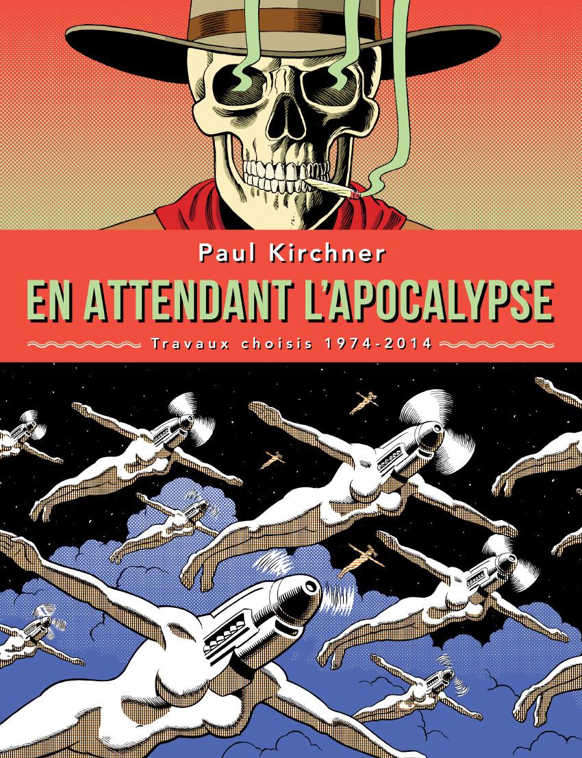 couverture de la Bande dessinée en attendant l'apocalypse aux éditions Tanibis