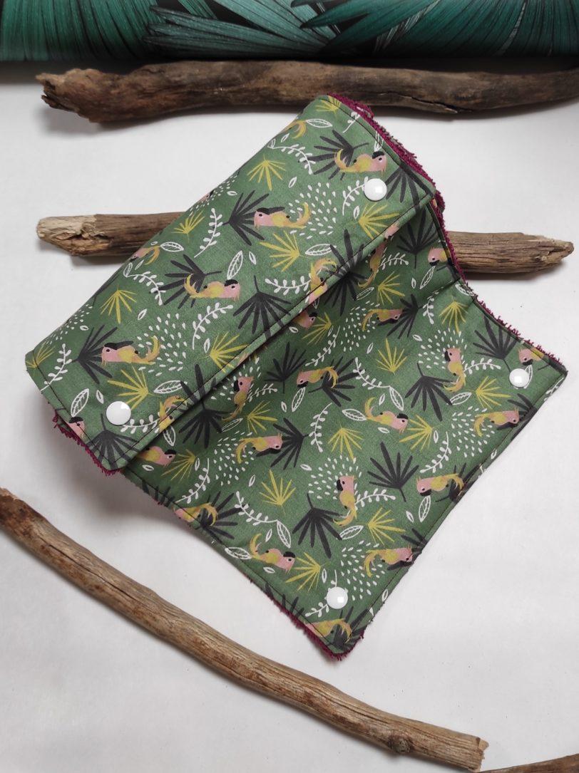 Essuie Tout 8 feuilles Perroquet éponge bordeau (1)