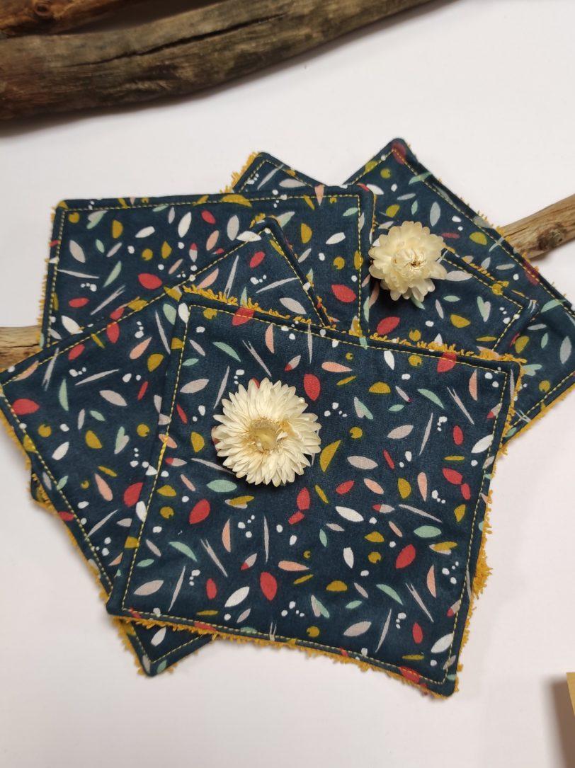 Grand Coton Confetti éponge jaune (3)