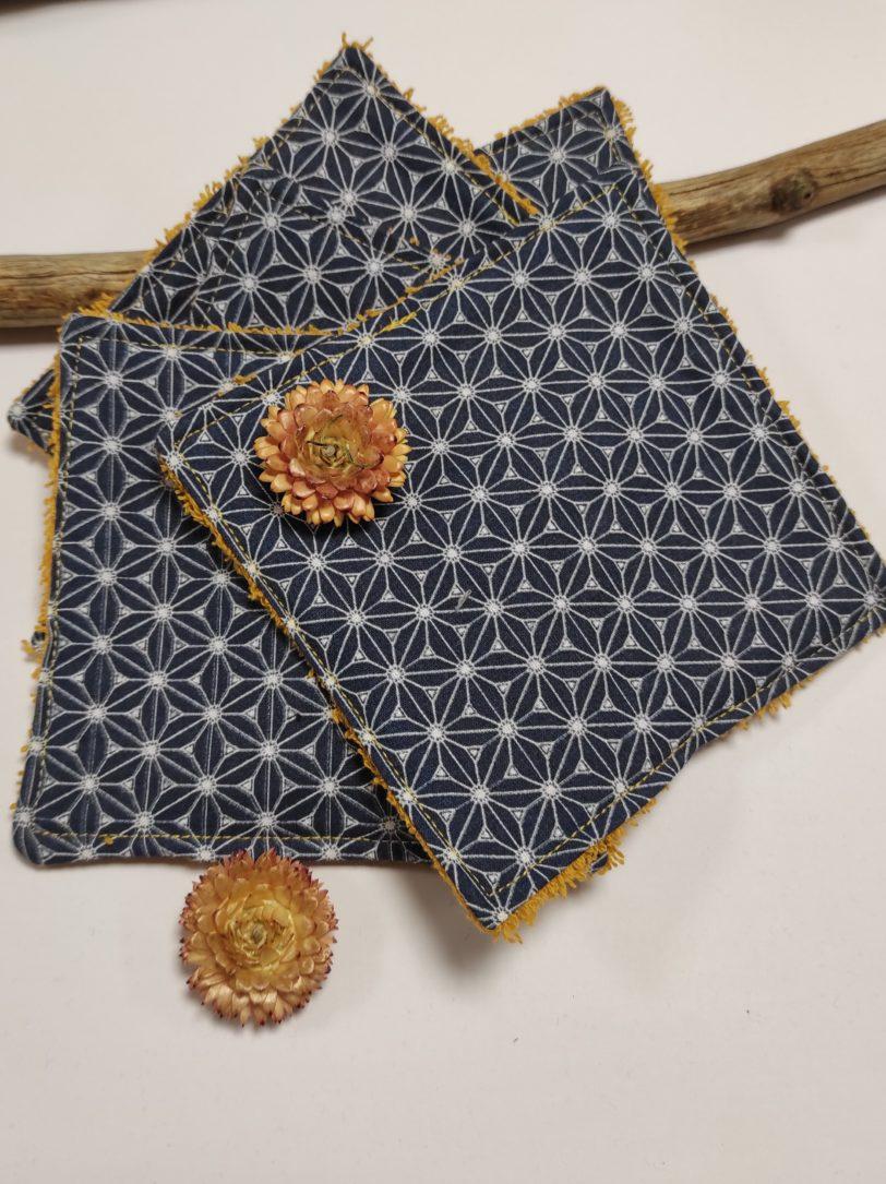 Grand étoile éponge jaune (3)