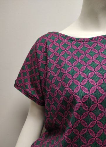 T-Shirt Kabi Mosaïque Julie Bonnard Créatrice Saint-Étienne