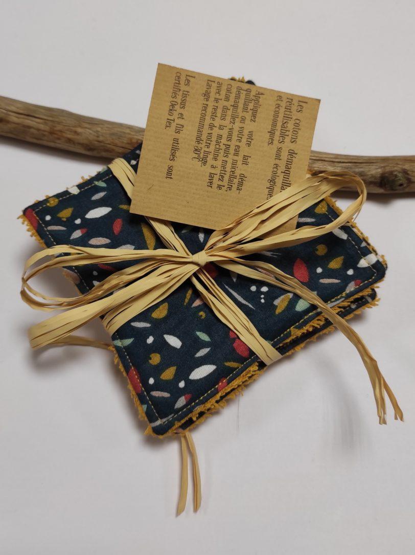 Petit coton Confetti éponge jaune (3)