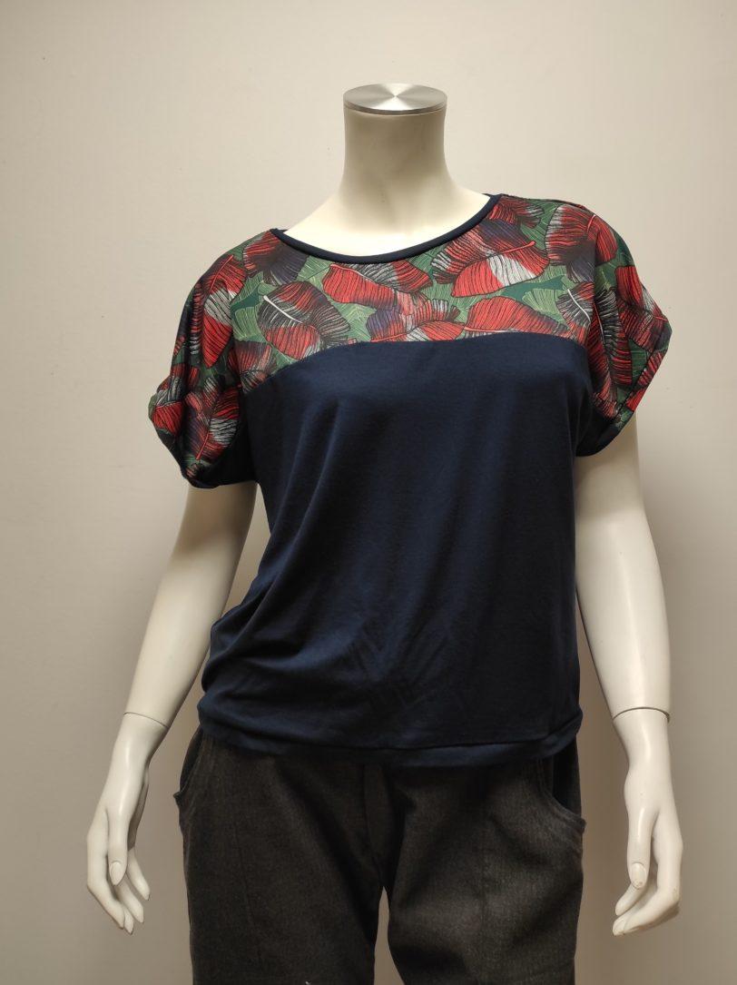T-shirt Kani Court Feuillage Julie Bonnard Créatrice Saint-Étienne (4)