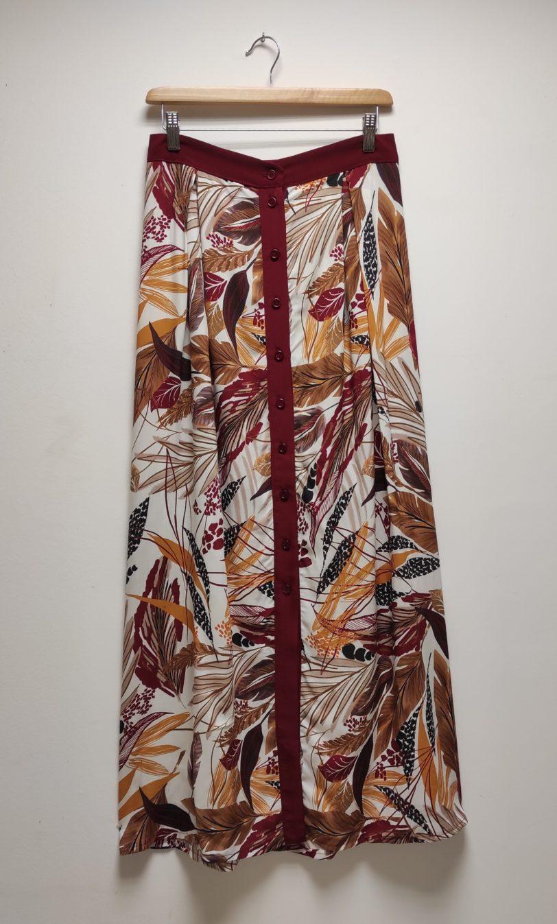 Jupe longue Saia Viscose et microfibre Julie Bonnard créatrice vêtement saint etienne (2)