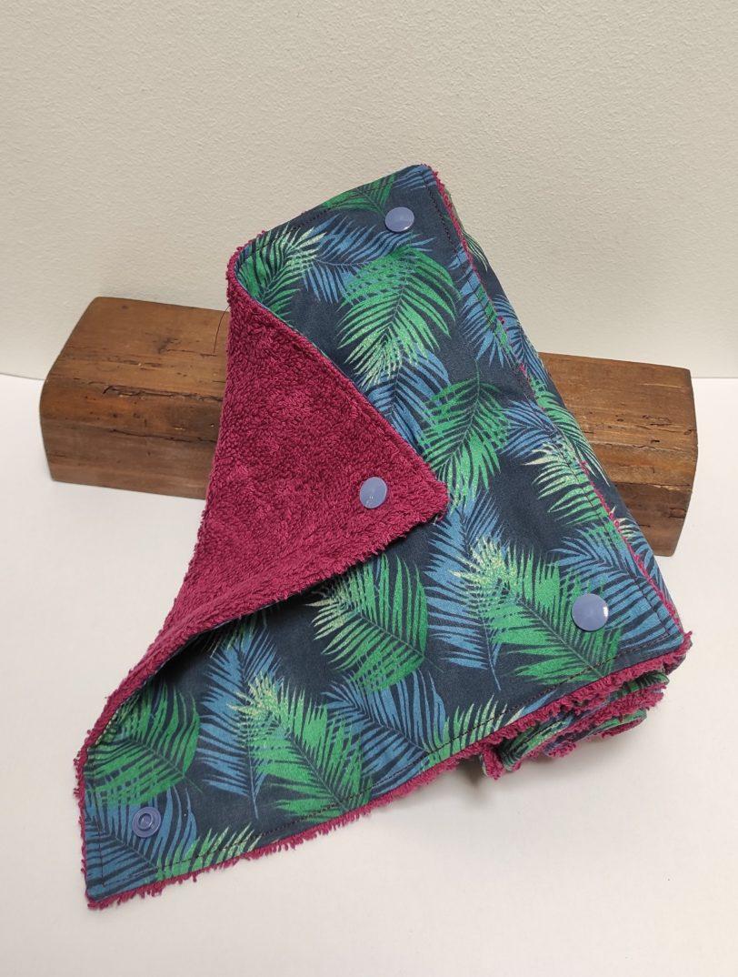 Essuie Tout Jungle 5 feuilles Julie Bonnard créatrice textile