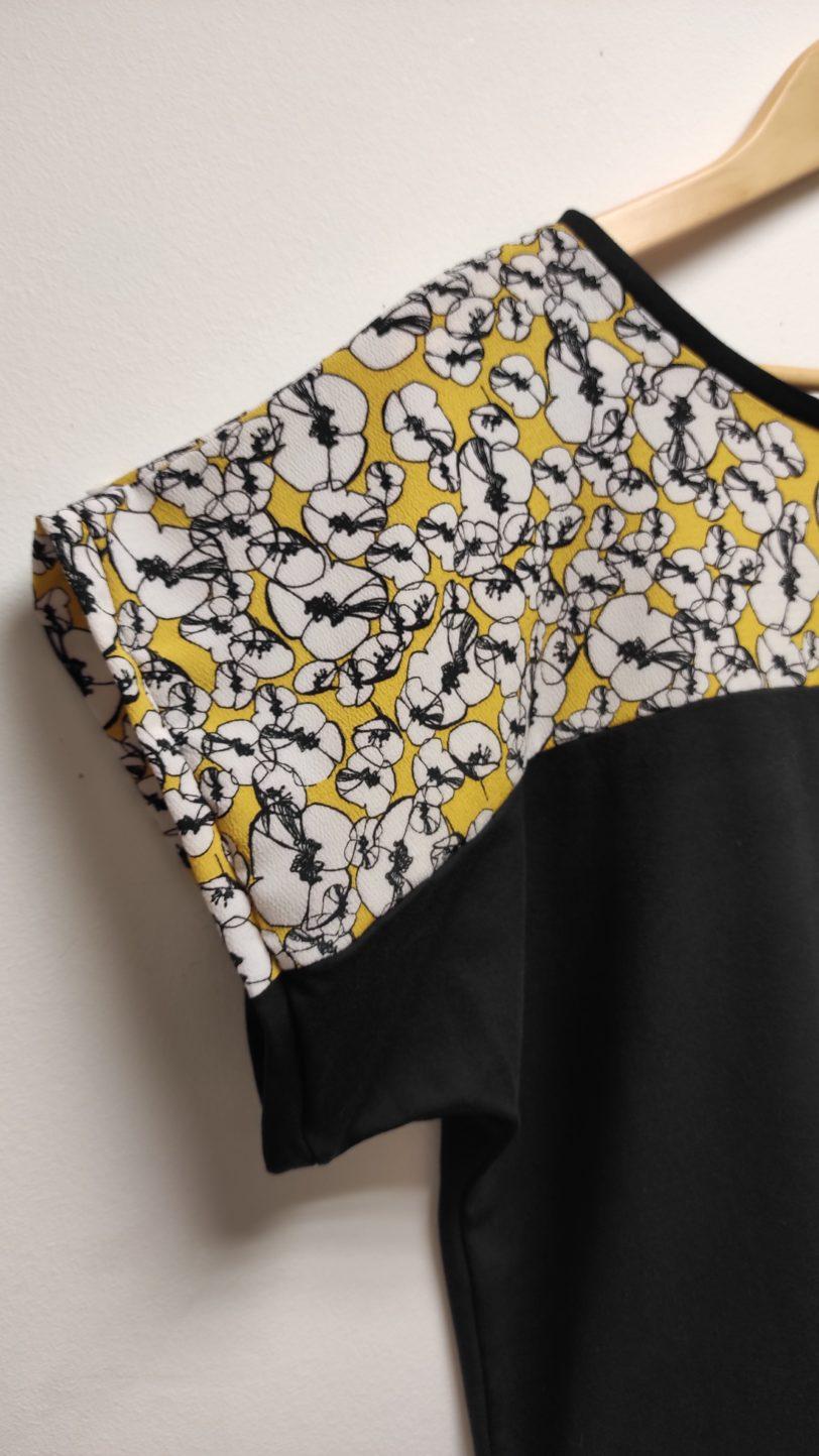 T-Shirt Kani Bi color Julie Bonnard créatrice textile Saint-Étienne (2)