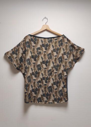 T-Shirt Testa Ananas Julie Bonnard Créatrice Textile Saint Etienne (1)